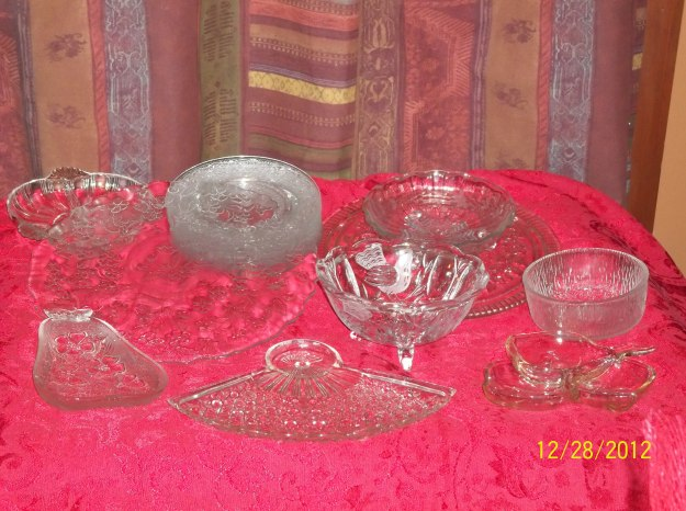 Glass serving-ware